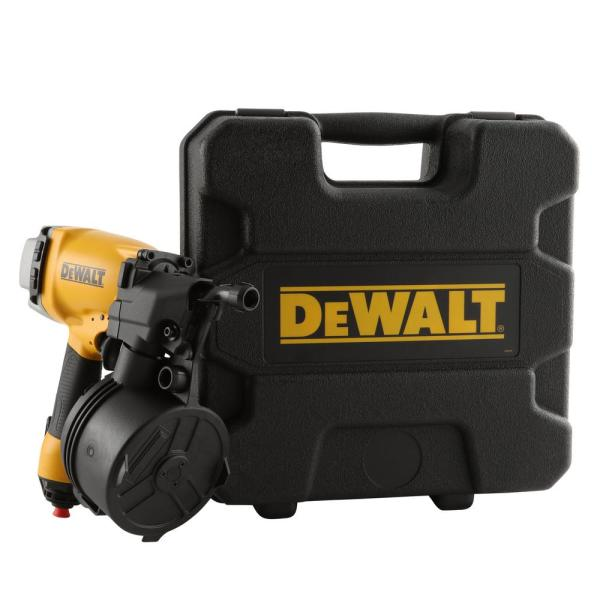 Dewalt Pneumatic 15 Degree Coil Siding Nailer Dw66c 1 The Home Depot