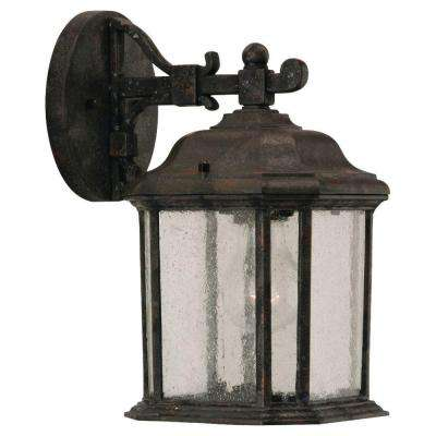 Polycarbonate Outdoor Collection 1-Light Outdoor Black Post Lantern