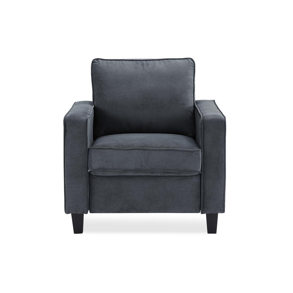 Lifestyle Solutions Garren Chair In Dark Grey