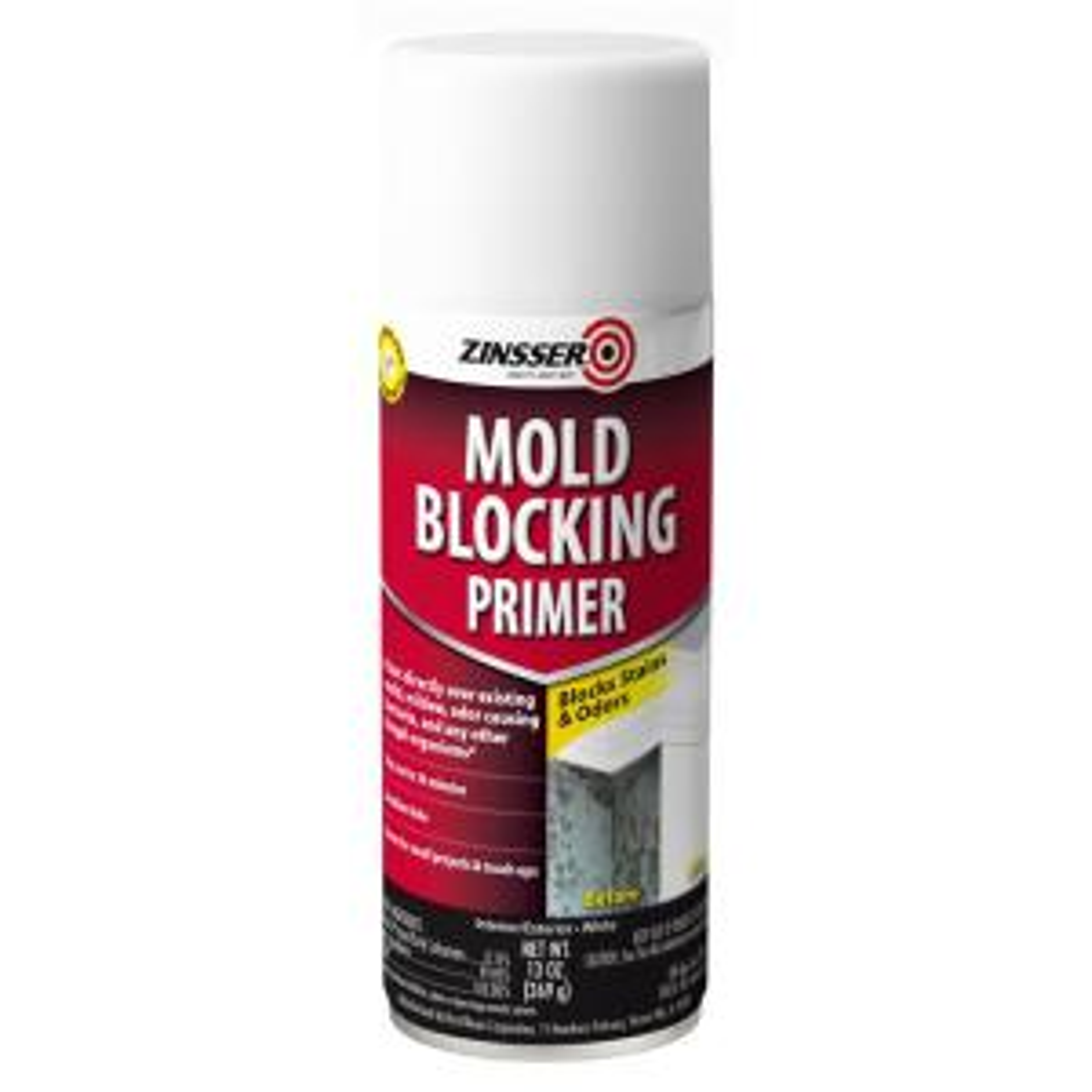 Zinsser 13 Oz Mold Blocking Interior Exterior Primer Spray 287512 The Home Depot