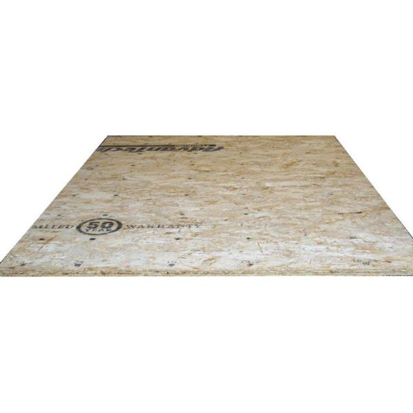 Advantech 23/32 in. x 4 ft. x 8 ft. Tongue-and-Groove Aspen OSB Underlayment Panel