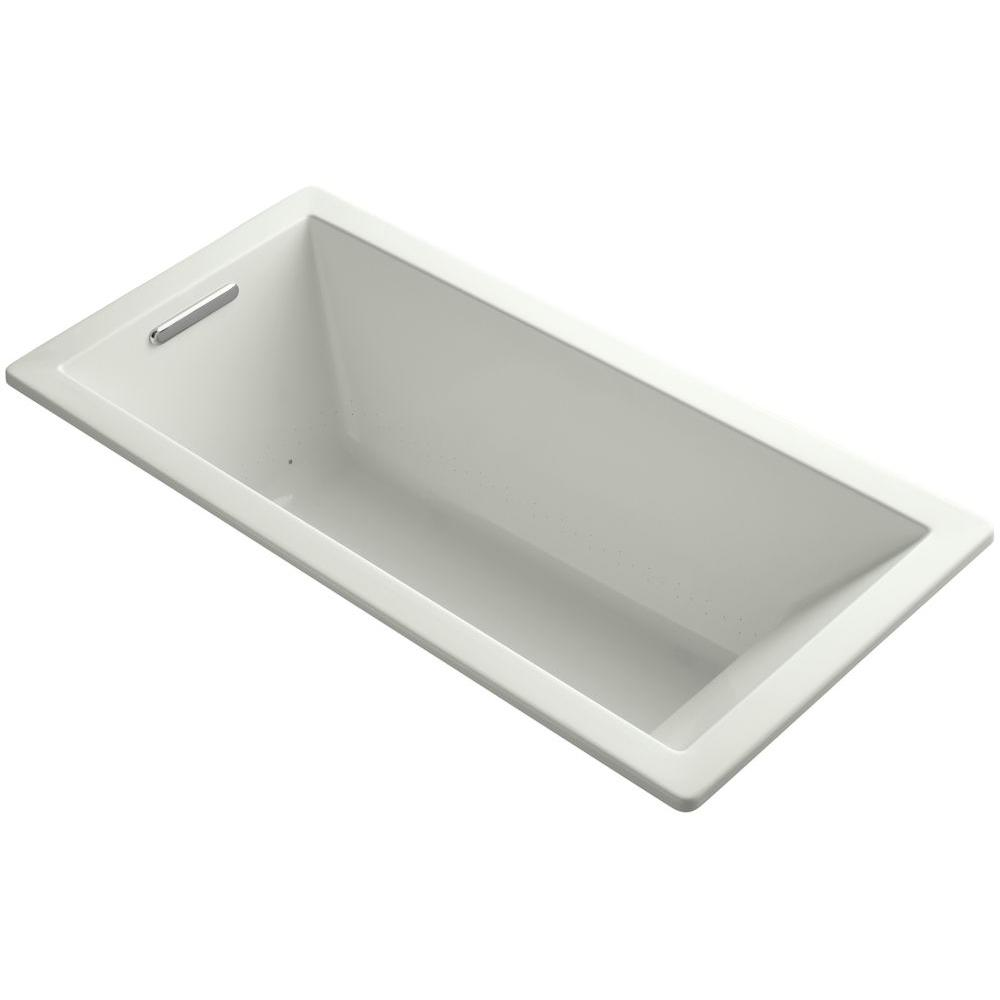 KOHLER Underscore 5.5 ft. Air Bath Tub in Dune