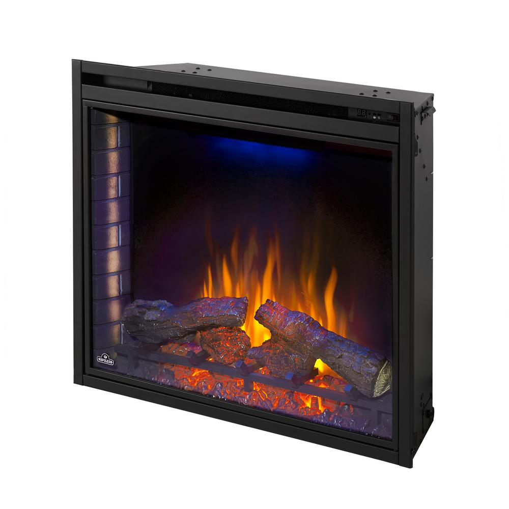 33 Curved Electric Fireplace Insert Fireplaces