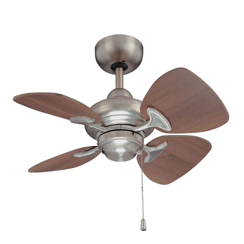 Designers Choice Collection Aires 24 in. Satin Nickel Ceiling Fan