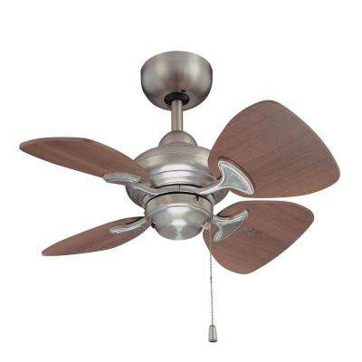 Aires 24 in. Satin Nickel Ceiling Fan