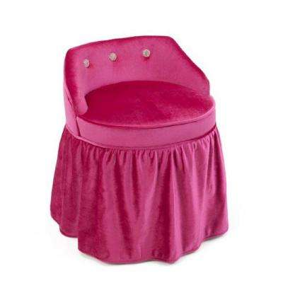 Girls Pink Vanity Chair