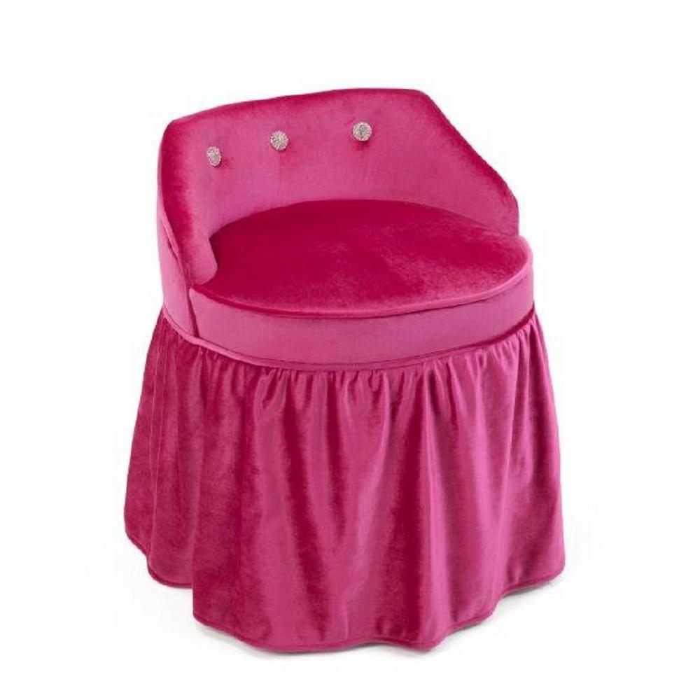 Girls Pink Vanity Chair