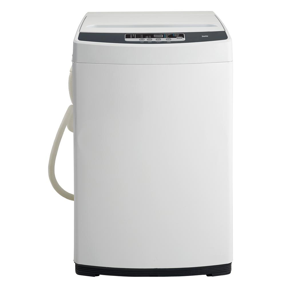 1.81 cu. ft. Portable Top Load Washer in White