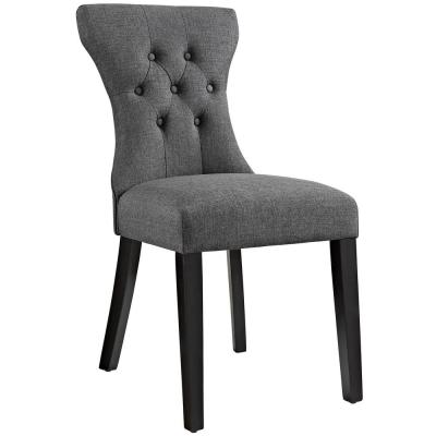 Silhouette Gray Dining Side Chair