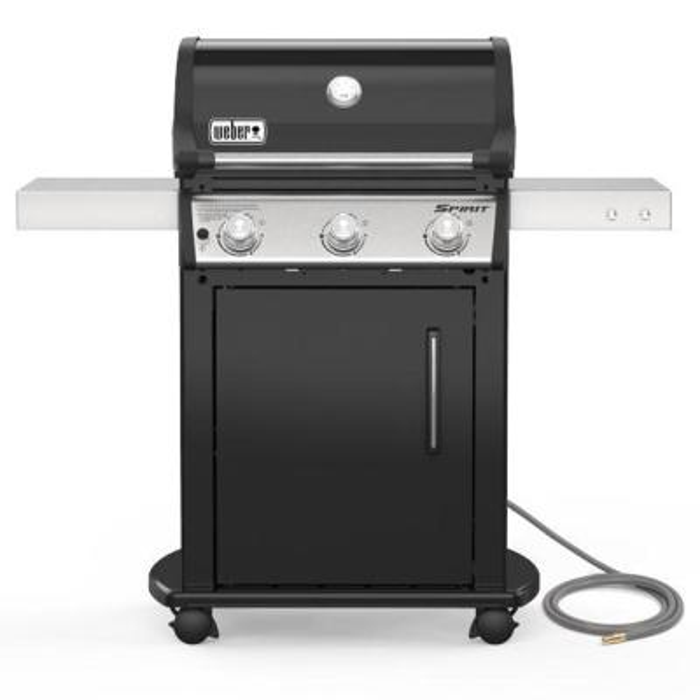 Spirit E-315 3-Burner Natural Gas Grill in Black