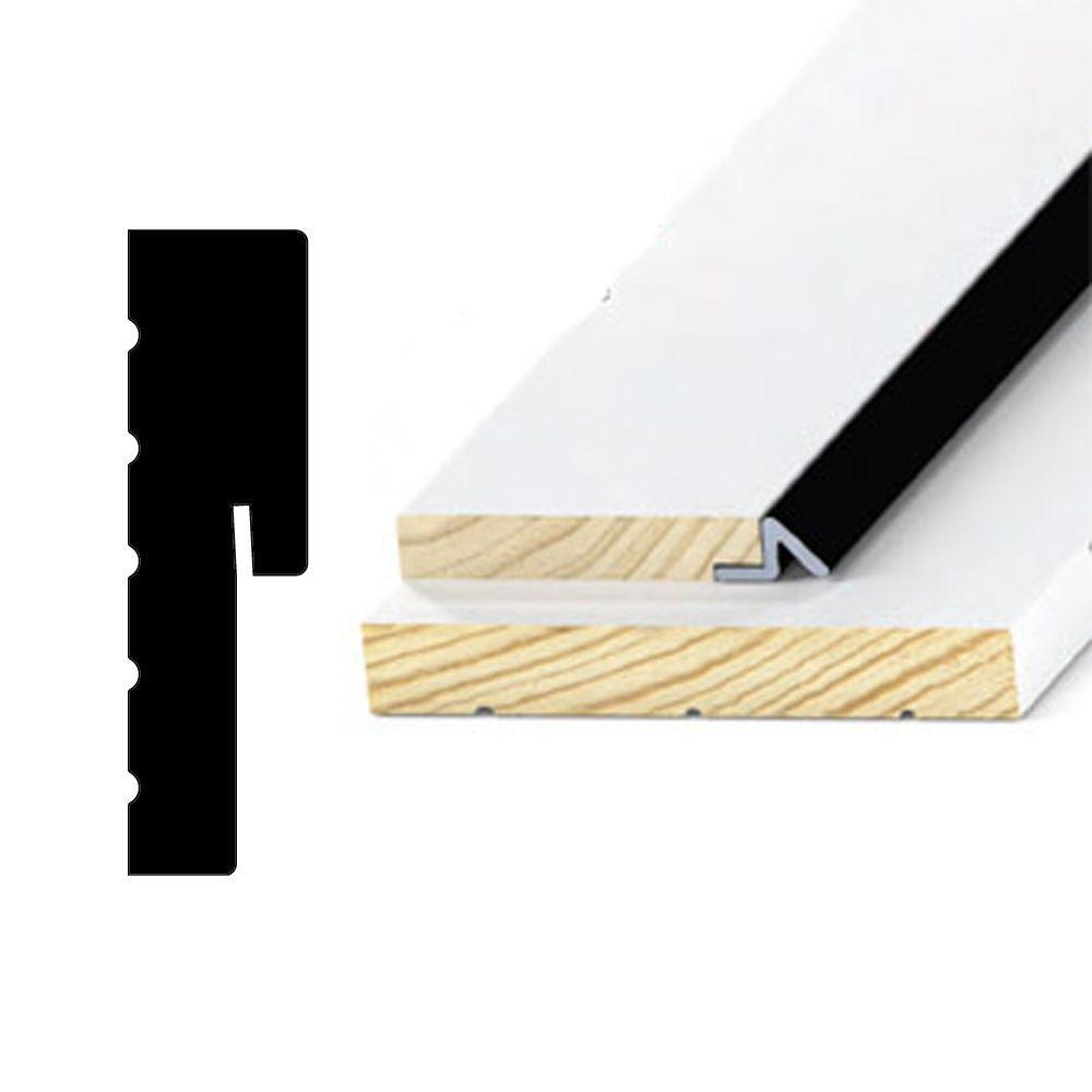 Alexandria Moulding 1-1/4 in. x 4-9/16 in. x 85 in. Wood Jamb Primed Finger Jointed Pine Door Frame Moulding