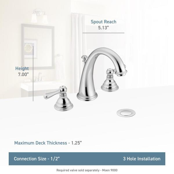 Handle High Arc Bathroom Faucet