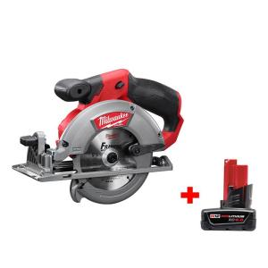 HomeDepot.com deals on Milwaukee M12 FUEL 12-Volt Brushless 5-3/8 in. Circular Saw w/ Battery