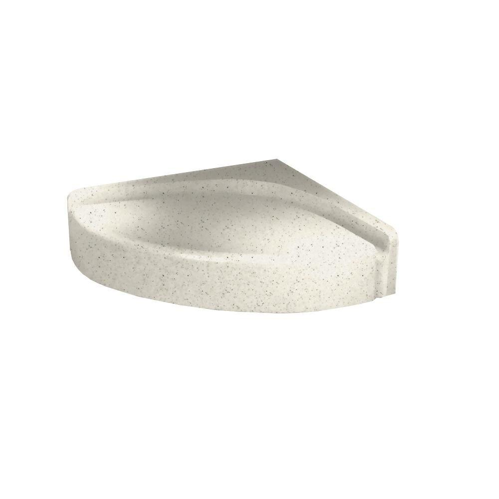 Swanstone 4 in. H Shower Seat in Tahiti Matrix-DISCONTINUED