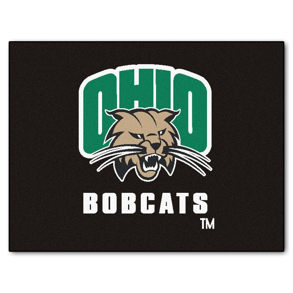 FANMATS Ohio University 3 ft. x 4 ft. All-Star Rug