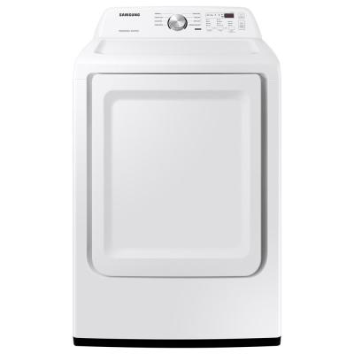 7.2 cu. ft. 120-Volt White Gas Dryer with Sensor Dry