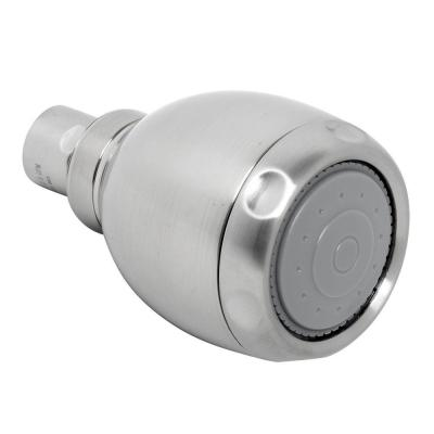 Vario 3-Spray 2.6 in. Single Wall Mount Fixed Adjustable Shower Head in Brushed Nickel