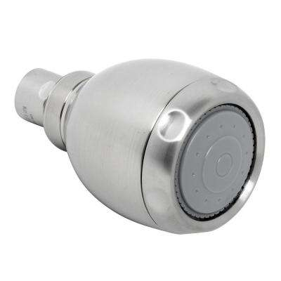 Vario Adjustable 3-Spray 2.6 in. Showerhead in Brushed Nickel