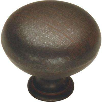 Manchester 1-1/4 in. Rustic Iron Cabinet Knob