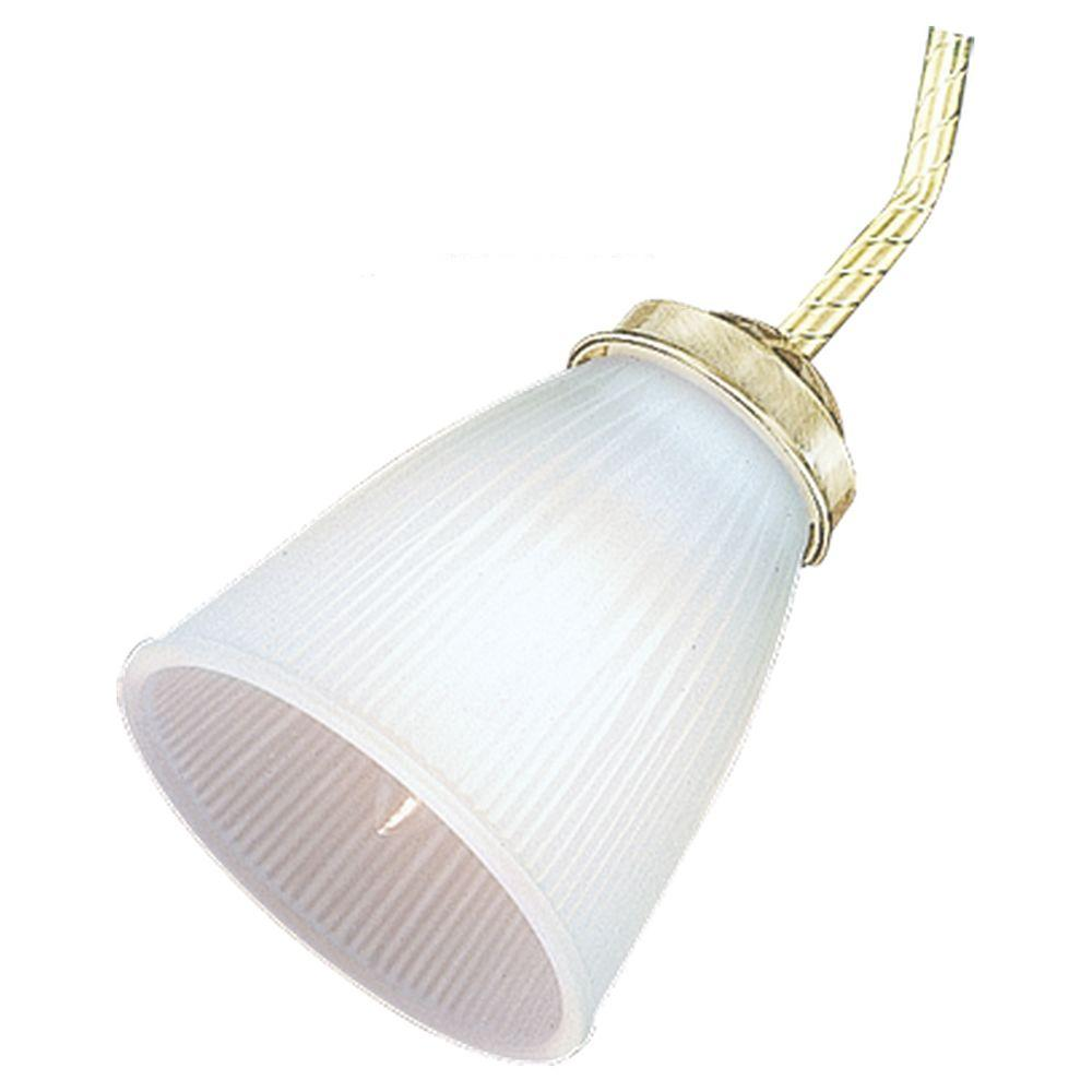 Ceiling Fan Glass Collection Satin White Ribbed Glass Shade