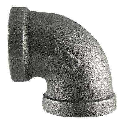 1/2 in. Black Iron 90° FPT x FPT Elbow