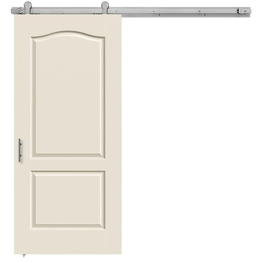 36 in. x 84 in. Camden Primed Smooth Molded Composite MDF