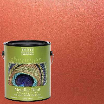 1 gal. Copper Satin Metallic Interior/Exterior Paint