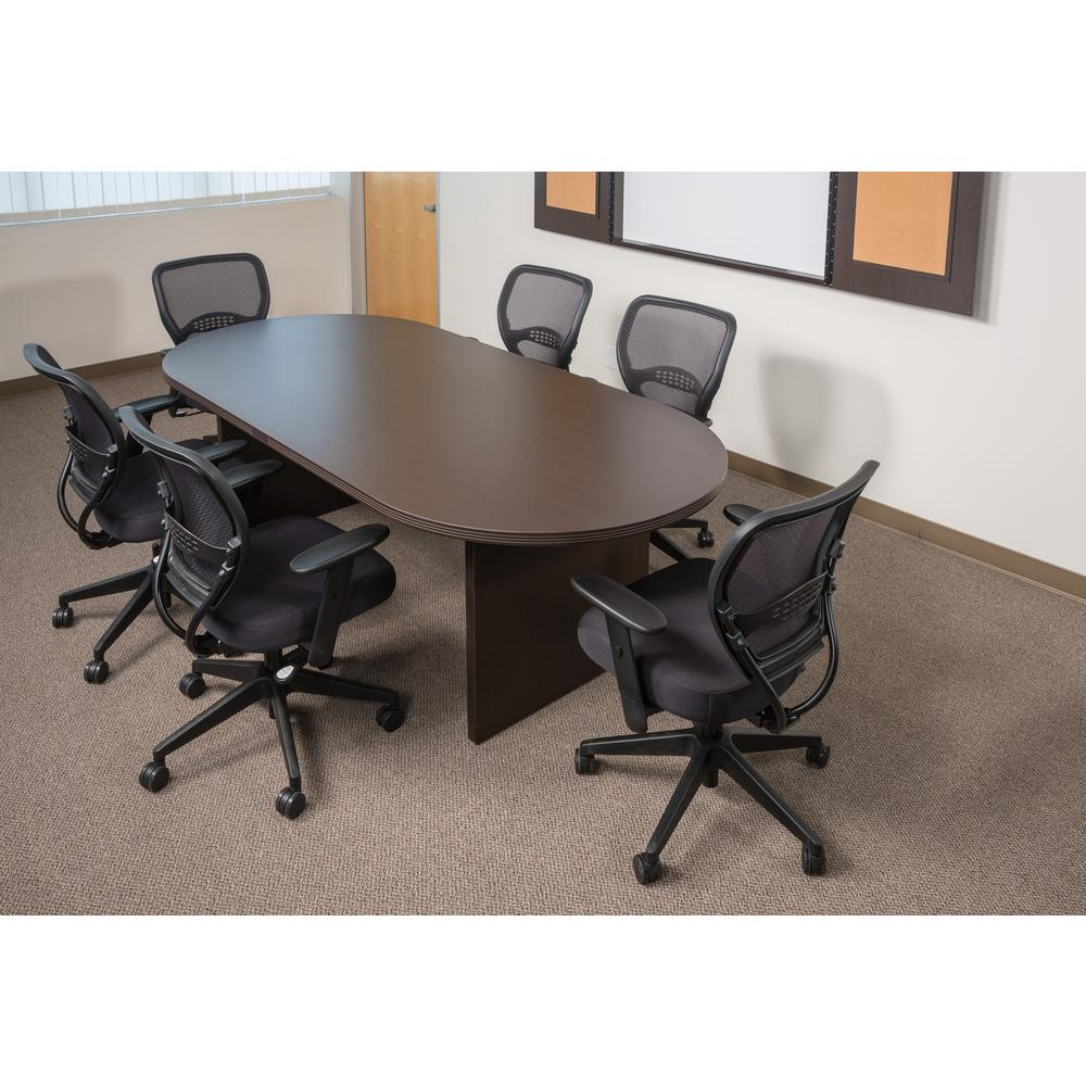 space seating black airgrid back manager office chair