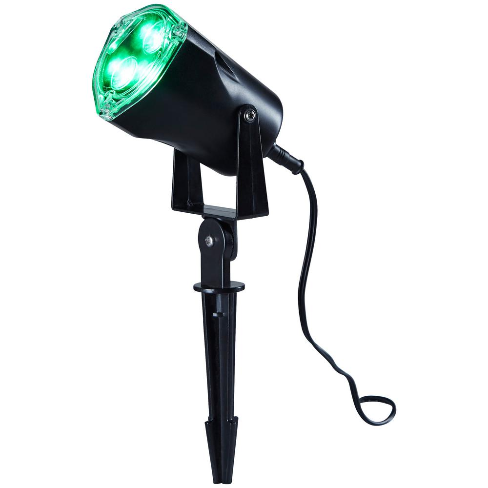 Home Accents Holiday Green Led Spotlight