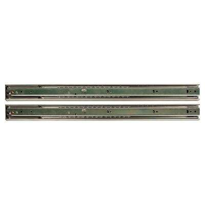 26 in. Soft Closed Full Extension Ball Bearing Side Mount Drawer Slide (10-Pair)