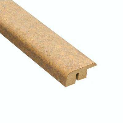 Lisbon Sand 1/2 in. Thick x 1-7/16 in. Wide x 78 in. Length Cork Carpet Reducer Molding