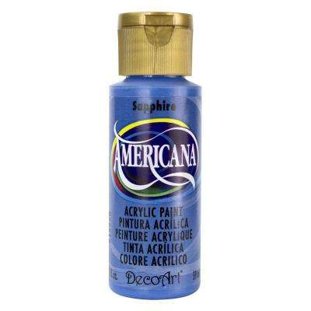 Americana 2 oz. Sapphire Acrylic Paint