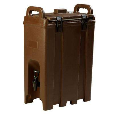 2.5 gal. Nylon Latch Cateraide Insulated Beverage Server in Brown