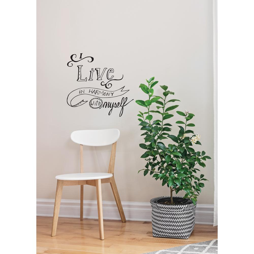 (20 In X 20.2 In) Harmony Wall Decal