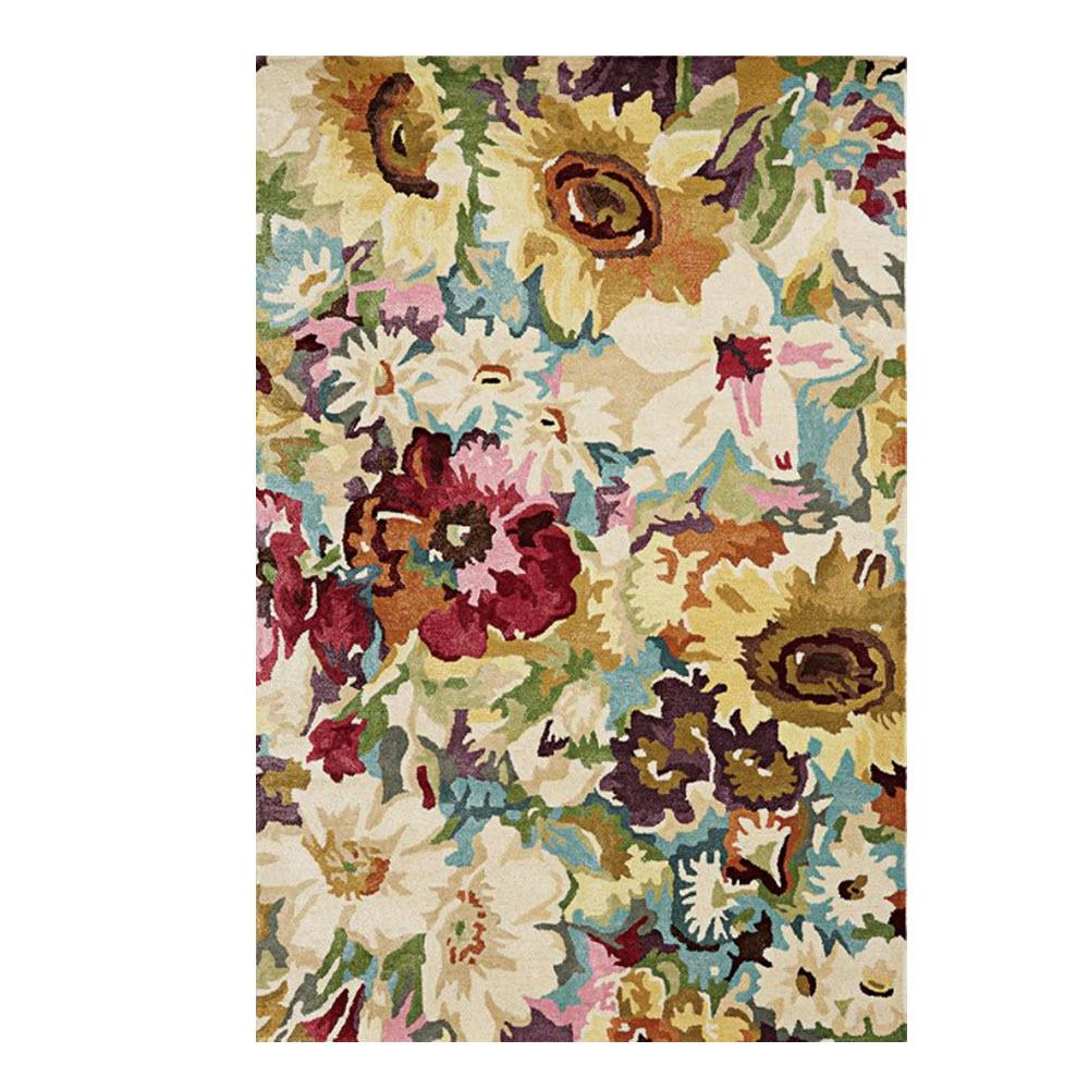 Garden Party Multi 8 ft. x 11 ft. Area Rug