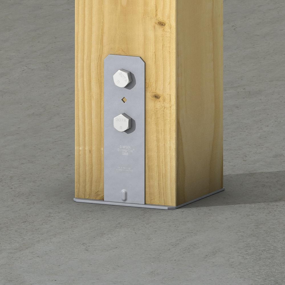 CB Column Base for 8x8 Nominal Lumber