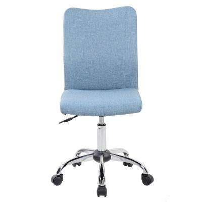 Blue Jean Modern Armless Task Chair