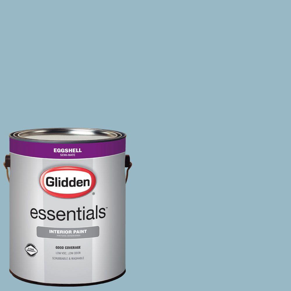 Hdgb50 Soft Rococo Blue Eggshell Interior Paint