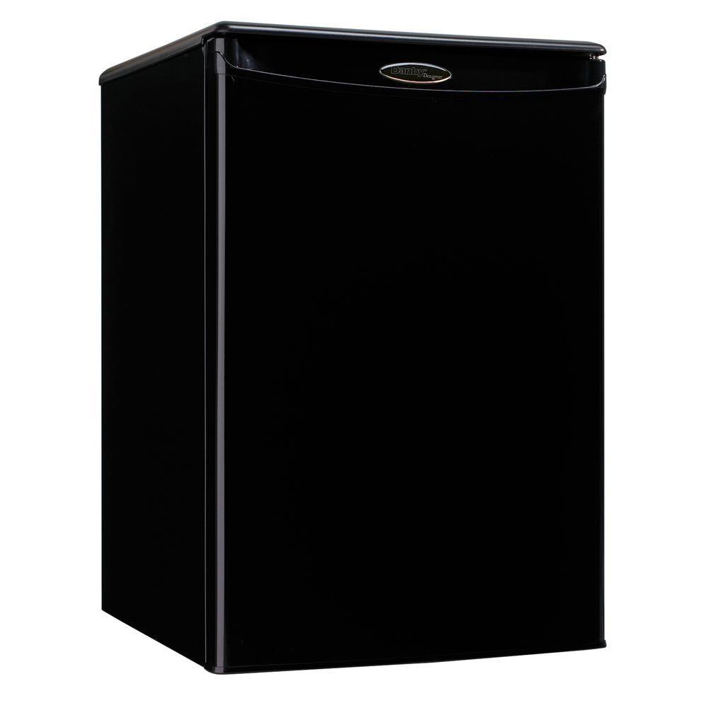 Danby 2.5 cu. ft. Mini Refrigerator in Black-DISCONTINUED