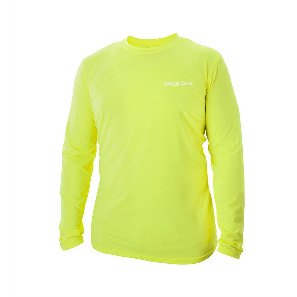 Men's Extra-Large Yellow Long Sleeve Shirt