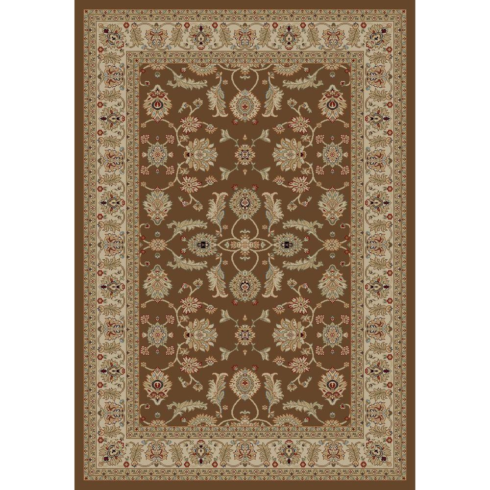 Jewel Antep Brown 2 ft. 7 in. x 4 ft. Accent