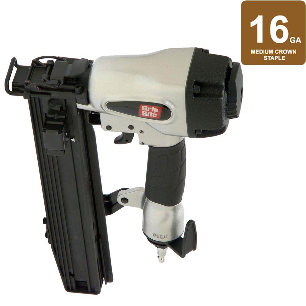 Grip-Rite 2 in. x 15/16 in. x 16-Gauge Wide Crown Stapler