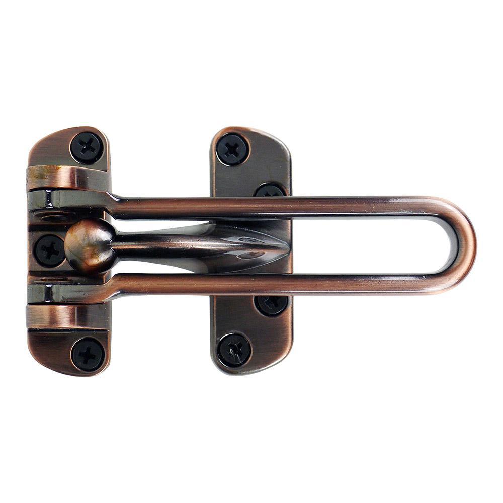 Accent Builders Hardware Oil Rubbed Bronze Swing Bar Door Security Guard
