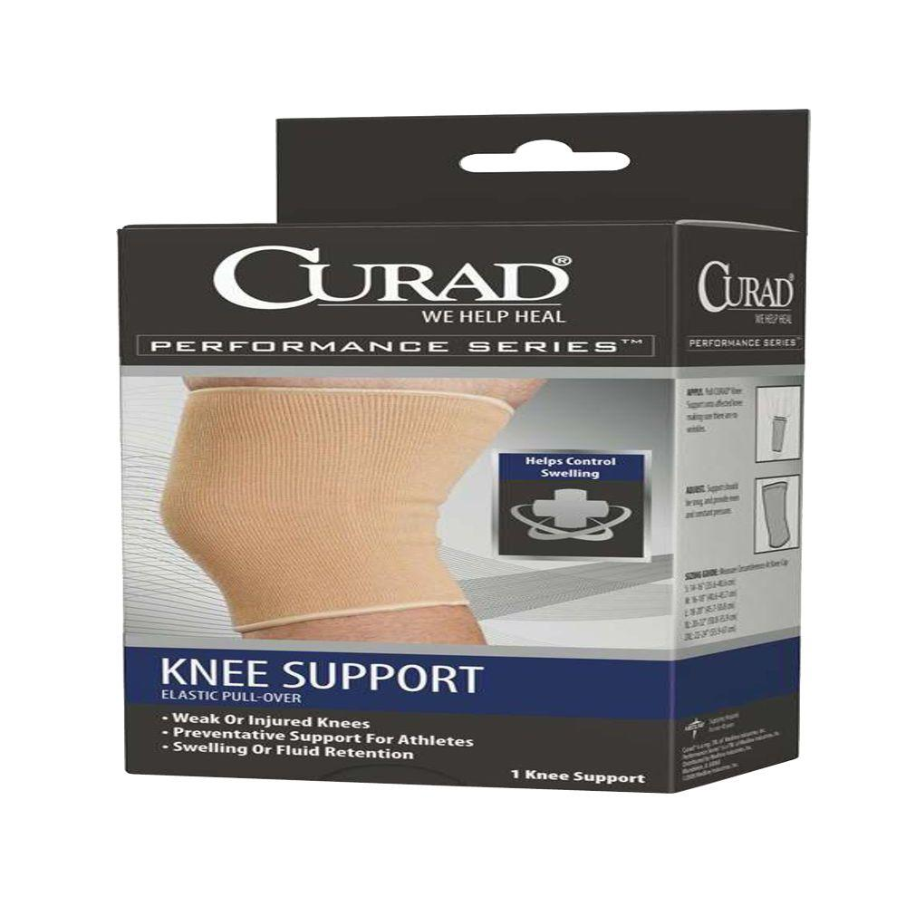 Large Knee Support with Cartilage Pad