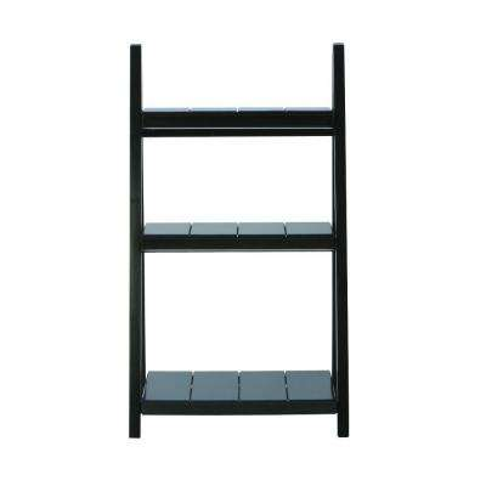 Nolan Black Folding Ladder Bookcase