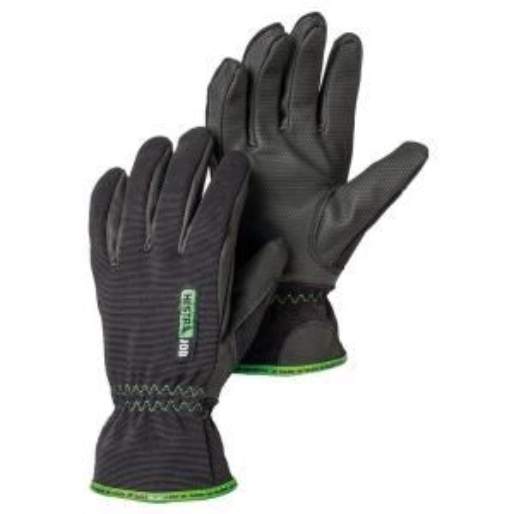 Hestra Small Size 7 Black Polyurethane Work Gloves by Hestra