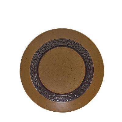 Sawmill Brown Salad Plate (Set of 4)