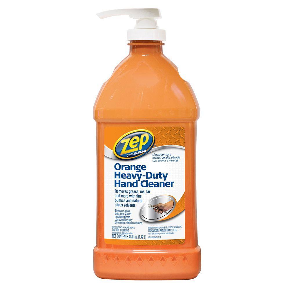 Zep 48 Oz Orange Heavy Duty Hand Cleaner Zuohc48ca The