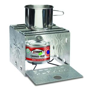 Click here to buy Sterno CandleLamp Folding Camp Stove by Sterno CandleLamp.