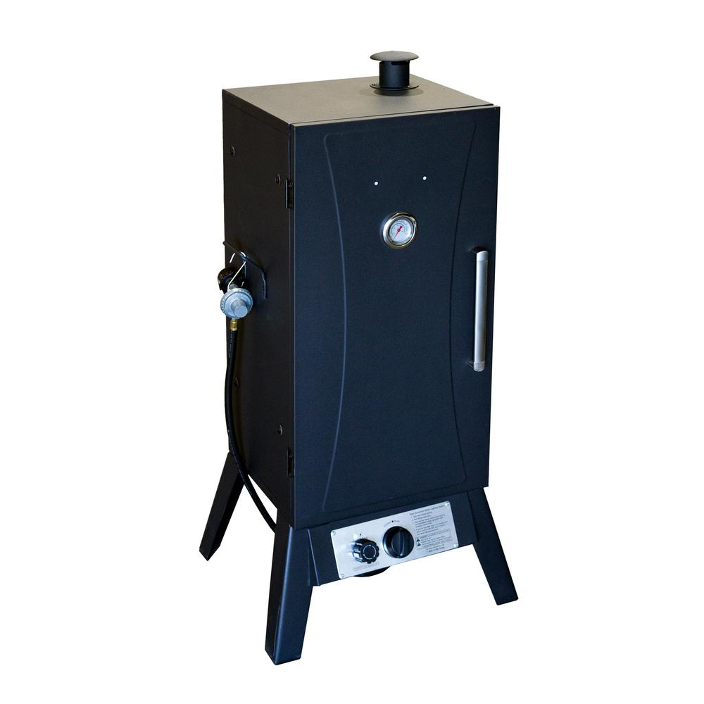 AZ Patio Heaters Steel Vertical Propane Smoker